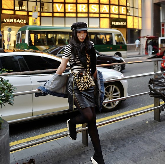 Mimi N. - Christian Dior Bag, Balenciaga Shoes, Balmain Skirt - Hongkong ni hao
