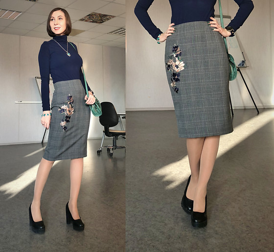 Jane V.I. -  - Office skirt