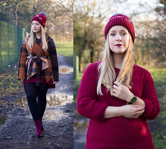 Emma Reay - Sammy Dress Watch, Sammy Dress Jumper, Sammy Dress Hat, Sammy Dress Boots, Zaful Jacket - Winter Walks