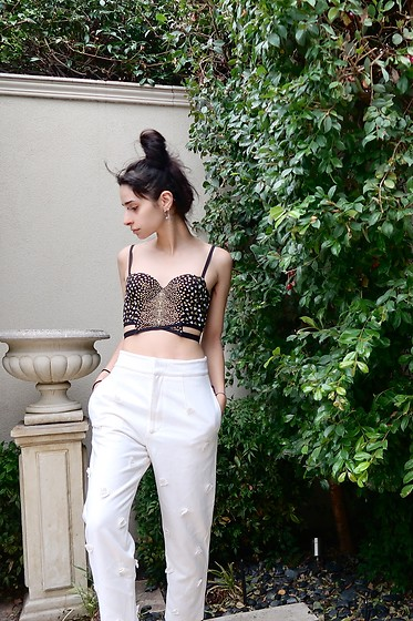 Ellie Nik - Sass And Bide Bodice, Alpha60 Pants - Refresh // NEW post up on ILLICITEMPRESS.COM