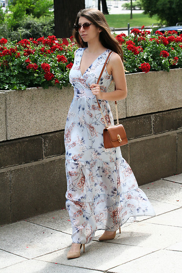Carmen Schubert - Orsay Flower Printed Summer Dress - Maxi Dress