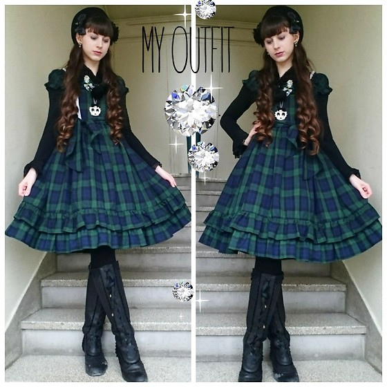 Yumi E.G. - Baby The Stars Shine Bright Tartan Dress - Tartan lover