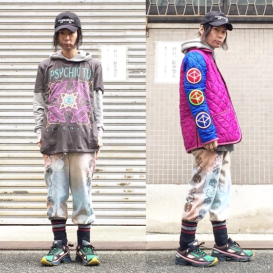 @KiD - (K)Ollaps Noise Music, Phychic Tv Ufo, Lavenham Cassette Playa, 大麻堂 Sweat Pants, Adidas Raf Simons - JapaneseTrash329