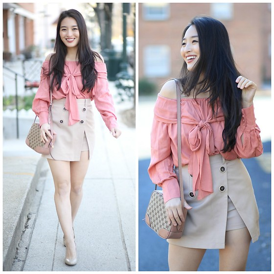 Kimberly Kong -  - The Cutest Bow Top + My Latest Food Adventures