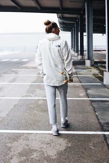 Richy Koll - New Balance Sneakers, Weekday Suit Pants, The North Face Jacket - The North Face x New Balance