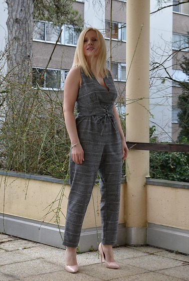 Alice So -  - Checkered jumpsuit