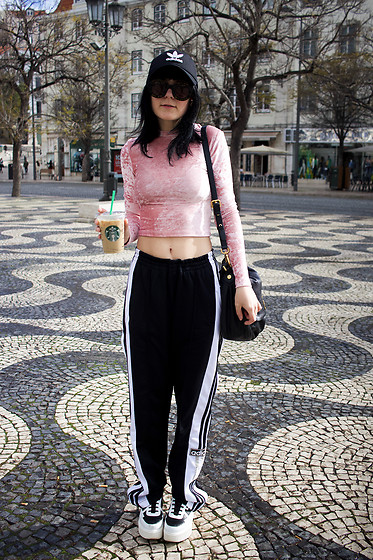 Panda . - Adidas Cap, H&M Top, Adidas Pants, Karl Lagerfeld Shoes - ADIDAS QUEEN
