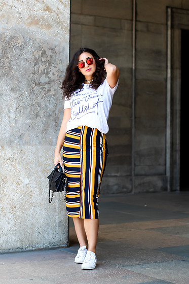 Samieze -  - Striped Midi
