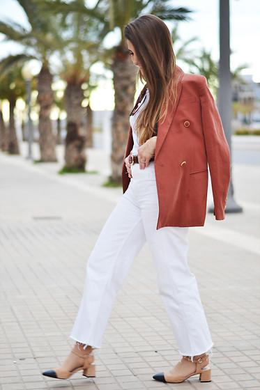 Lara Siles - Mango Blazer, Zara Shoes - LE PEACH MODE