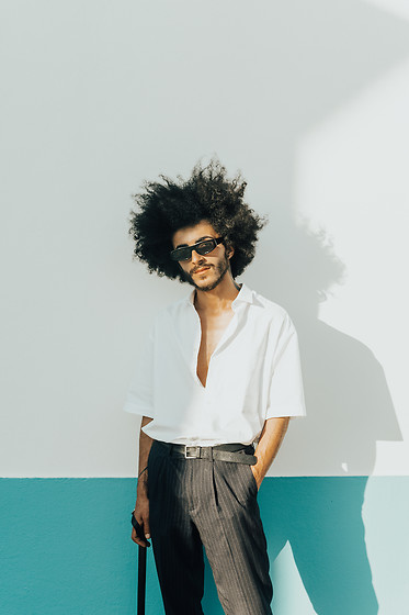 Marco Moura - For Menswear Pants, For Menswear Shirt, Zara Sunglasses - Welcome Spring w/ FoR Menswear