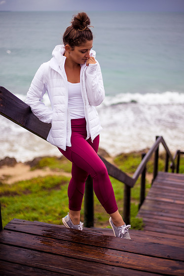 Monique Ceccato - Lululemon Jacket - Winter Activewear