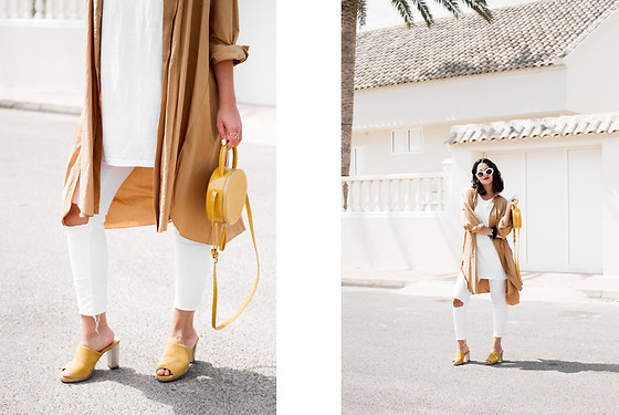 Maray - Zara Bag, Desiree Heels - Colores Tierra