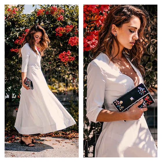 Roberta De Martino -  - My Total-White Look For Summer 2018