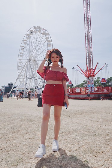 Angelina Cao -  - Isle of Wight Festival