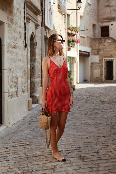 Marion Style - Missguided Dress, Zara Bag, Zara Sandals - Ciao bella