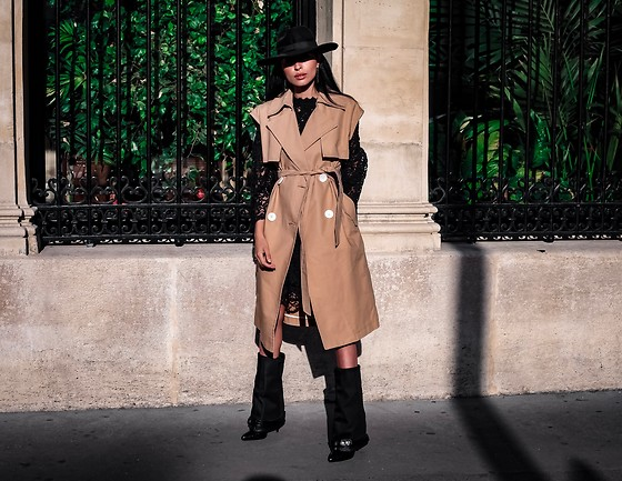 Damy Ben limore - Mango Trench - Trenche sans manche