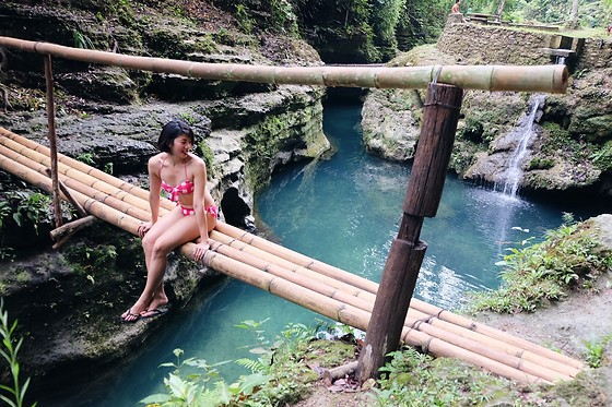 Cassey Cakes - Dorothy Perkins Swimsuit - Chasing Waterfalls in Cebu