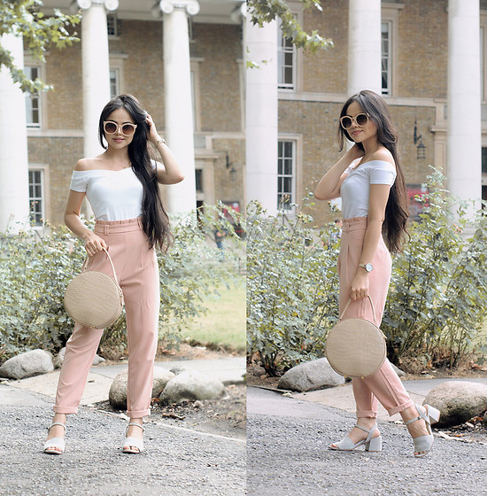 Clara Campelo - Pants, Watch - Pastel Tones