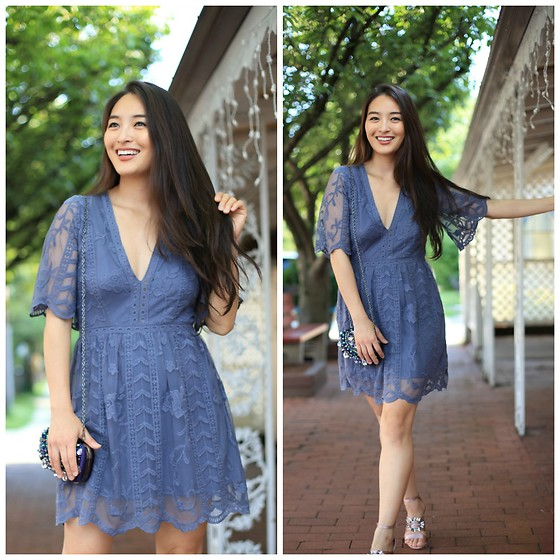 Kimberly Kong - Socialite Clothing Lace Minidress - Socialite Clothing: Must-Haves from Their Collection