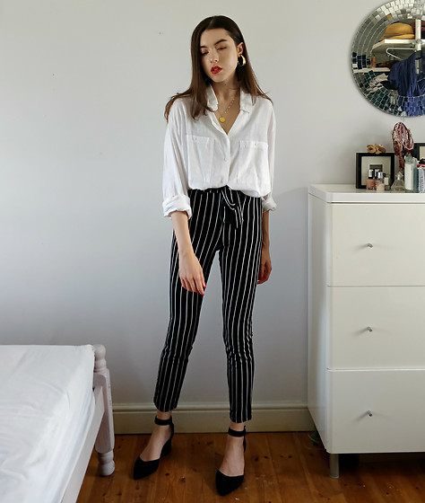 Georgia X - Shein Trousers - Between the Lines