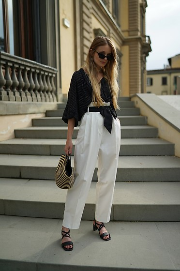 PATINESS - Instagram, Blog, Fb - HIGH WAISTED LOOSE PANTS