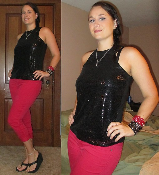 Erin Solberg -  - Sequins and Red Casual
