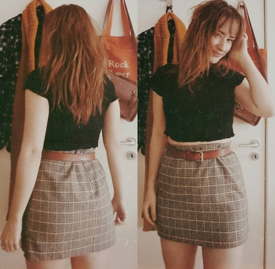 Polly Alba - Forever 21 Crop Top, New Look Skirt, Weekday Belt - All the ever afters