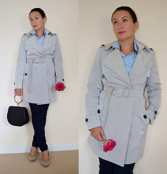 Adriana Style -  - Classic Trench Coat