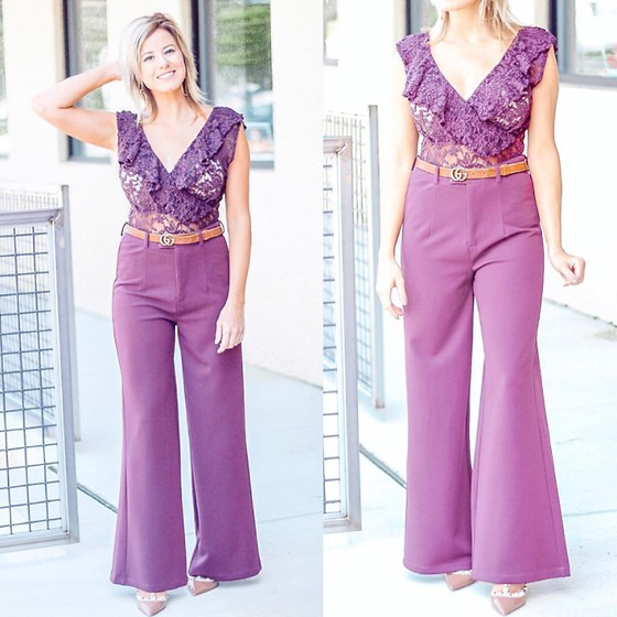 Kim Tuttle -  - The best (wine) wide leg pants
