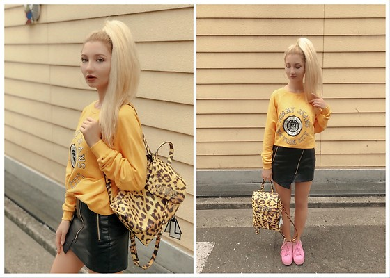 ♡Anita Kurkach♡ - Tommy Hilfiger Sweater, Guess Bag, Puma Shoes - Back to school outfit