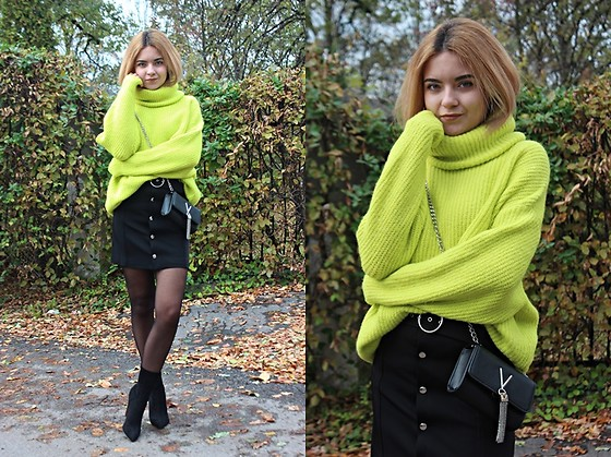 Sabina S. -  - NEON SWEATER