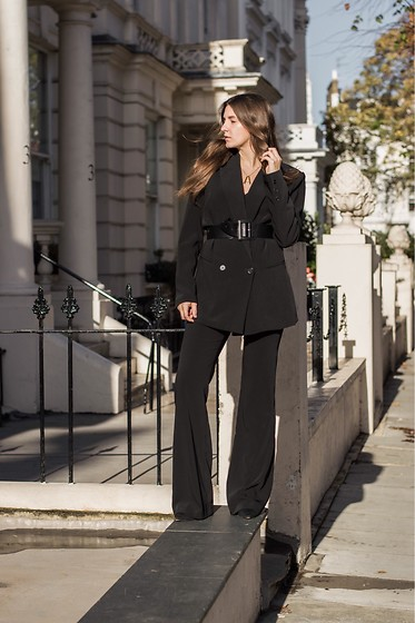 Anna -  - Black suit mood