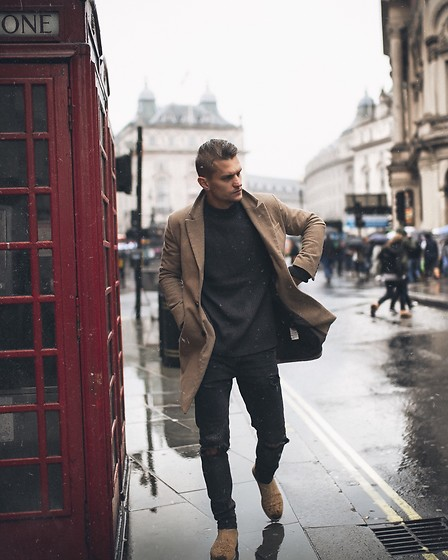 Dbrodovski - Topman Jumper, H&M Coat - The calm before rainy London*