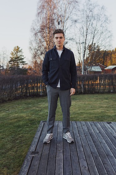 Andreas Sundbom - Samsøe Jacket, Whyred Pants, New Balance Sneakers - Fave pants