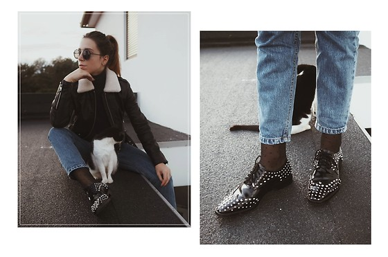 Maria Marques -  - CATS + STUDDED SHOES