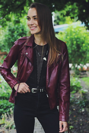 Willa Cherrybomb -  - Body and Fake Leather Jacket