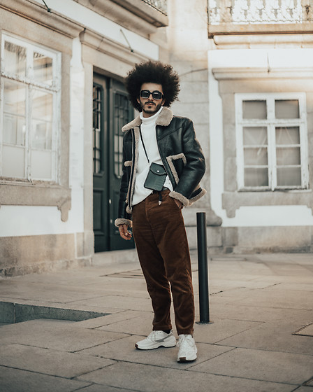 Marco Moura - Fila Venom, Zara Pants, Zara Knit, Zara Jacket, Zara Little Bag - 2019, I'm ready for you!
