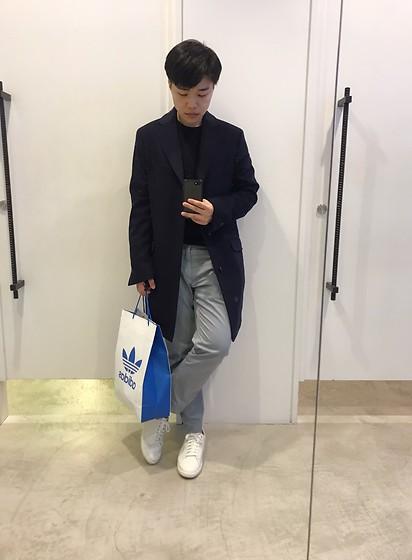 Joshua Wang - Massimo Dutti Trouser, Massimo Dutti Coat, Franch Connection Upper, Cole Haan Shoes - Stay with you