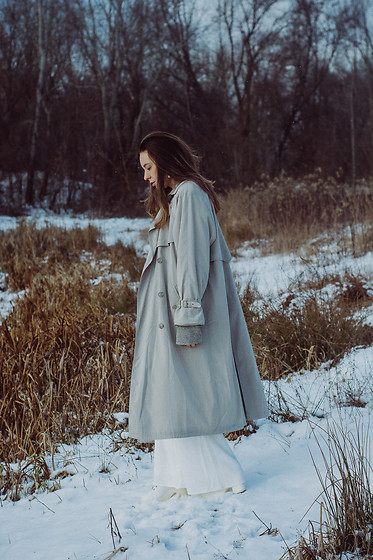 Iwona - Maxi Coat - Let it snow!
