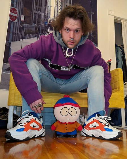 Murphy Cooper -  - Sneakers are the same color palette as Stan Marsh 🔵🔴⚪⚫