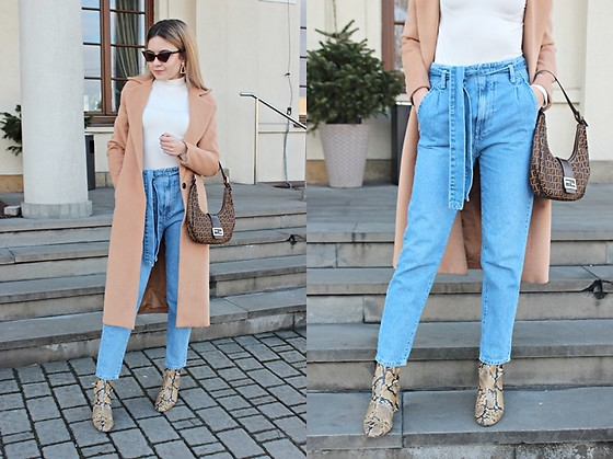Sabina S. -  - MOM JEANS and FENDI BAG