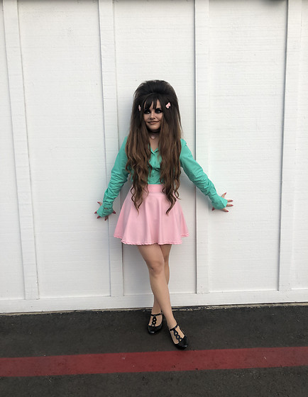 Samantha W -  - Minty Green and Pink!
