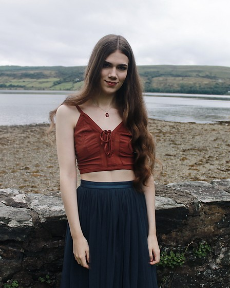 Lois H - Free People Bralette, Needle & Thread Tulle Skirt, Heather Gems Pendant Necklace - Wedding by the Water ❣️