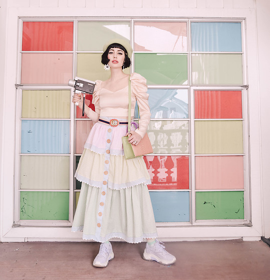 Amy Roiland - Ash Shoes - Greens and Pinks
