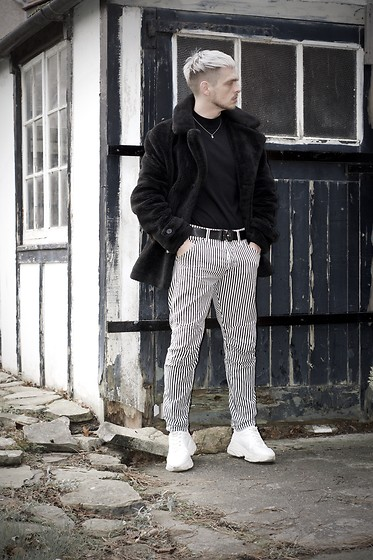 Bradley A - Topman Fur, G Star Raw Stripe - STRIPES AND FUR