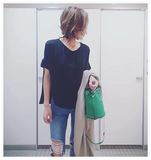 Chii - Asos Jeans, Zara Bag - Casual outfits