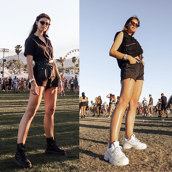 Jacky -  - COACHELLA FESTIVAL STYLE: What I was wearing
