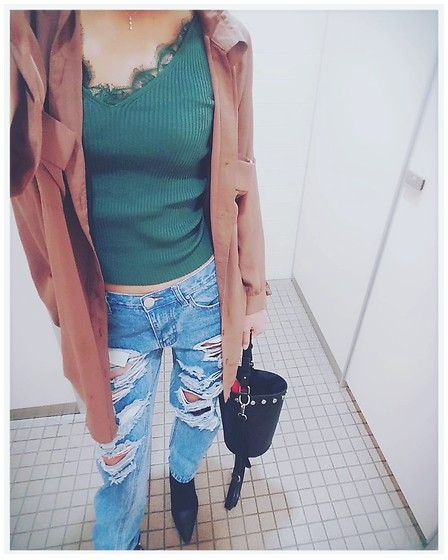 Chii - H&M Tops, Asos Jeans, New Look Bag - Mystyle