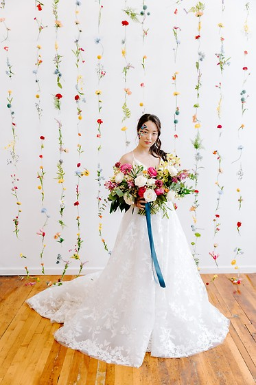 Kimberly Kong -  - Modeling for a Fun Wedding Editorial: Video + Stills