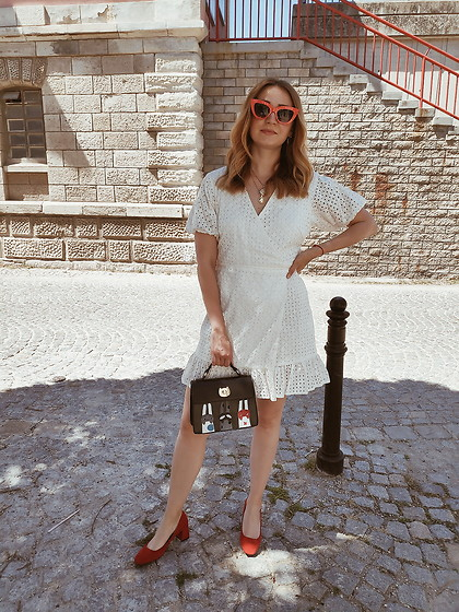 Tímea C - Asos Dress - Summer in broderie